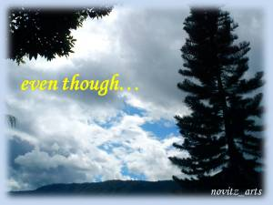 even-though
