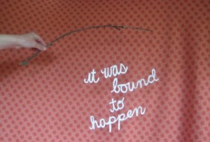 nicolle-lavelle-it-was-bound-to-happen-typography-412x280
