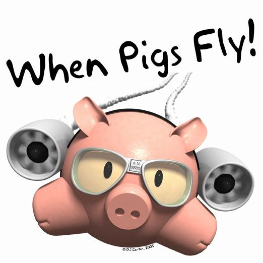 Grammatical Expression When Pigs Fly English Help Onlines Blog