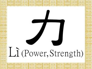Chinese-Characters-Li-Power-Strength