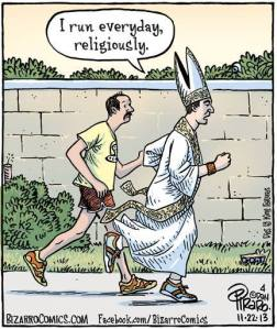 Running-religiously